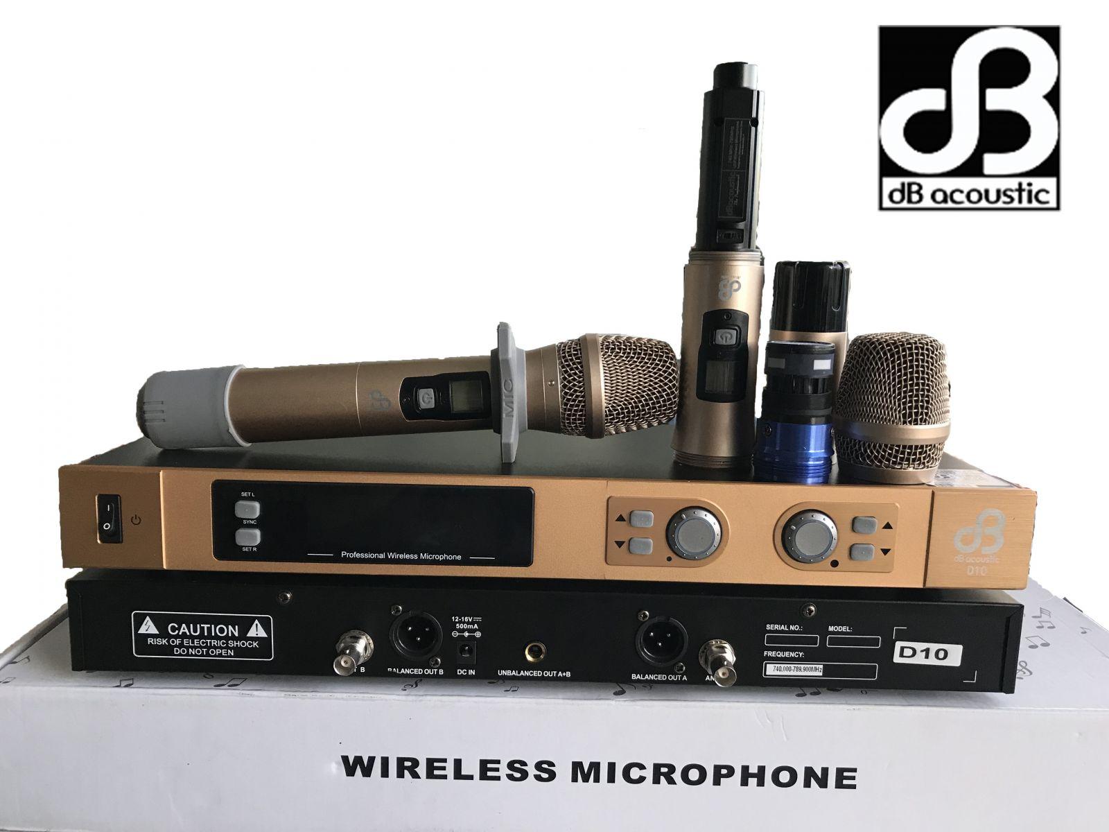 micro không dây dbacoustic d10