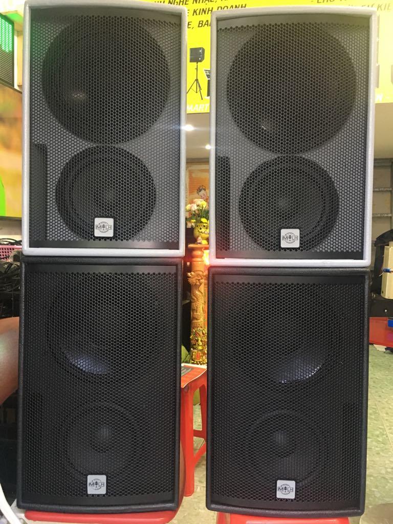 LOA qfactor k100b bass đồng trục trep b&c ý