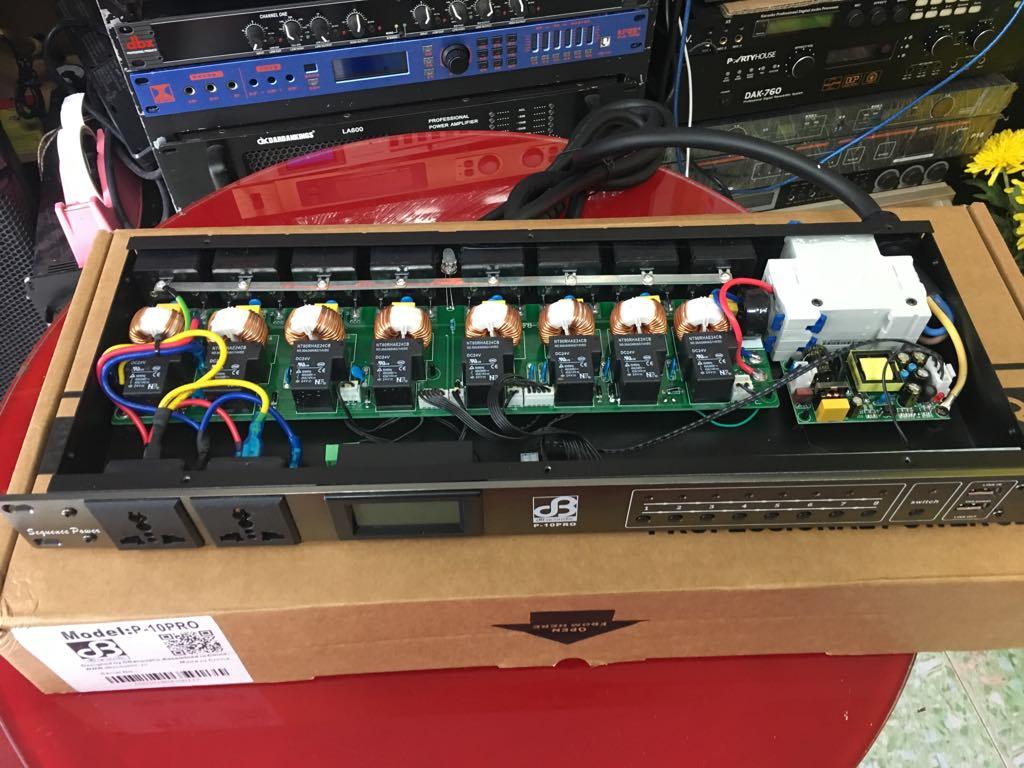 Chia nguồn dB Acoustic P10 Pro