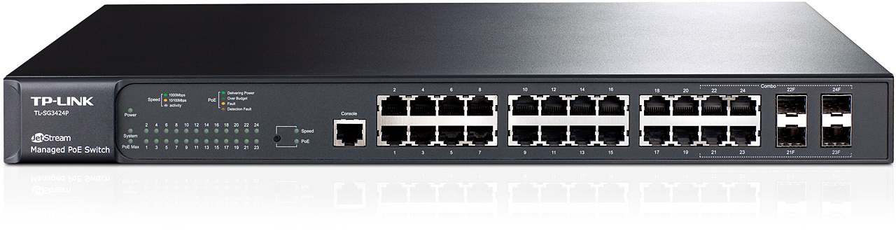 Switch TP-Link SG1024D 24-Port ( 1Gbps)