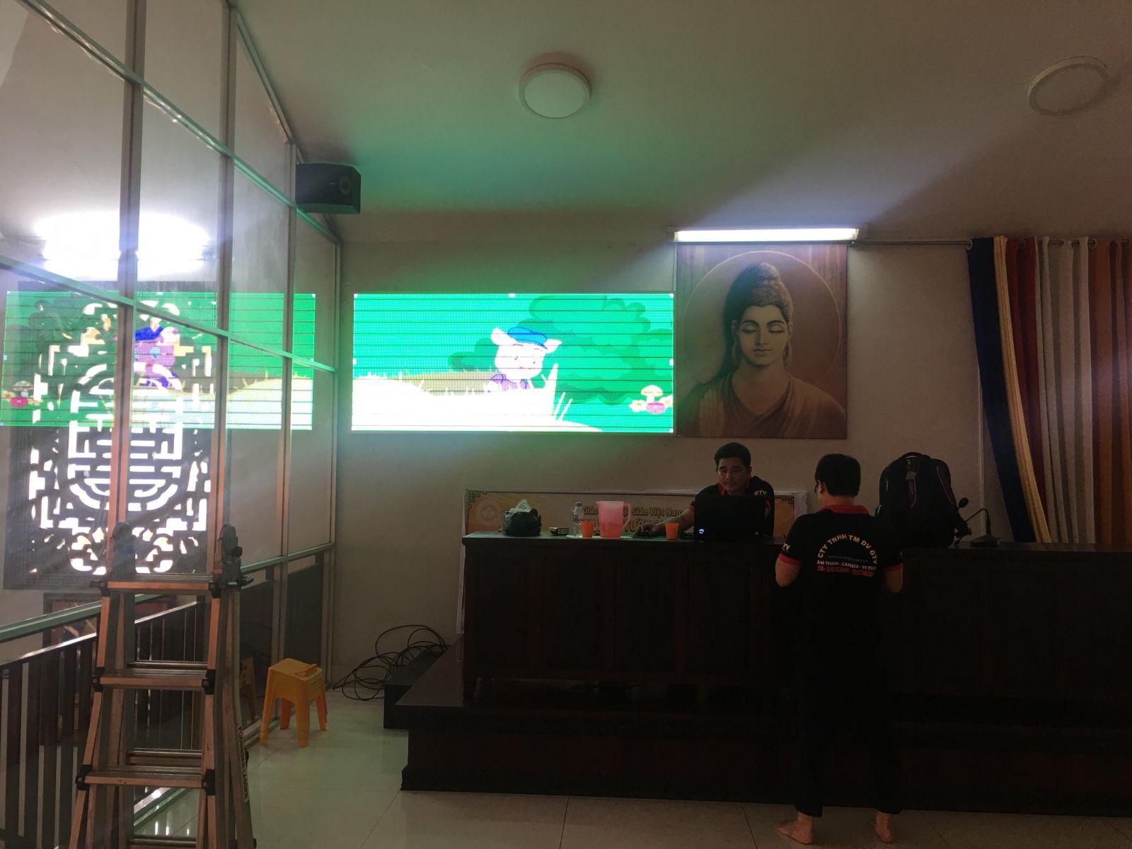 màn hình led p4 full trong nhà