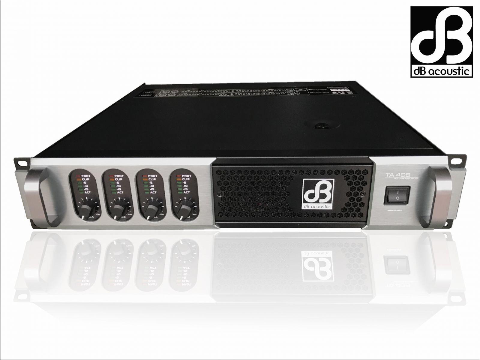 Cục đẩy công suất 4 kênh dBacoustic TA408