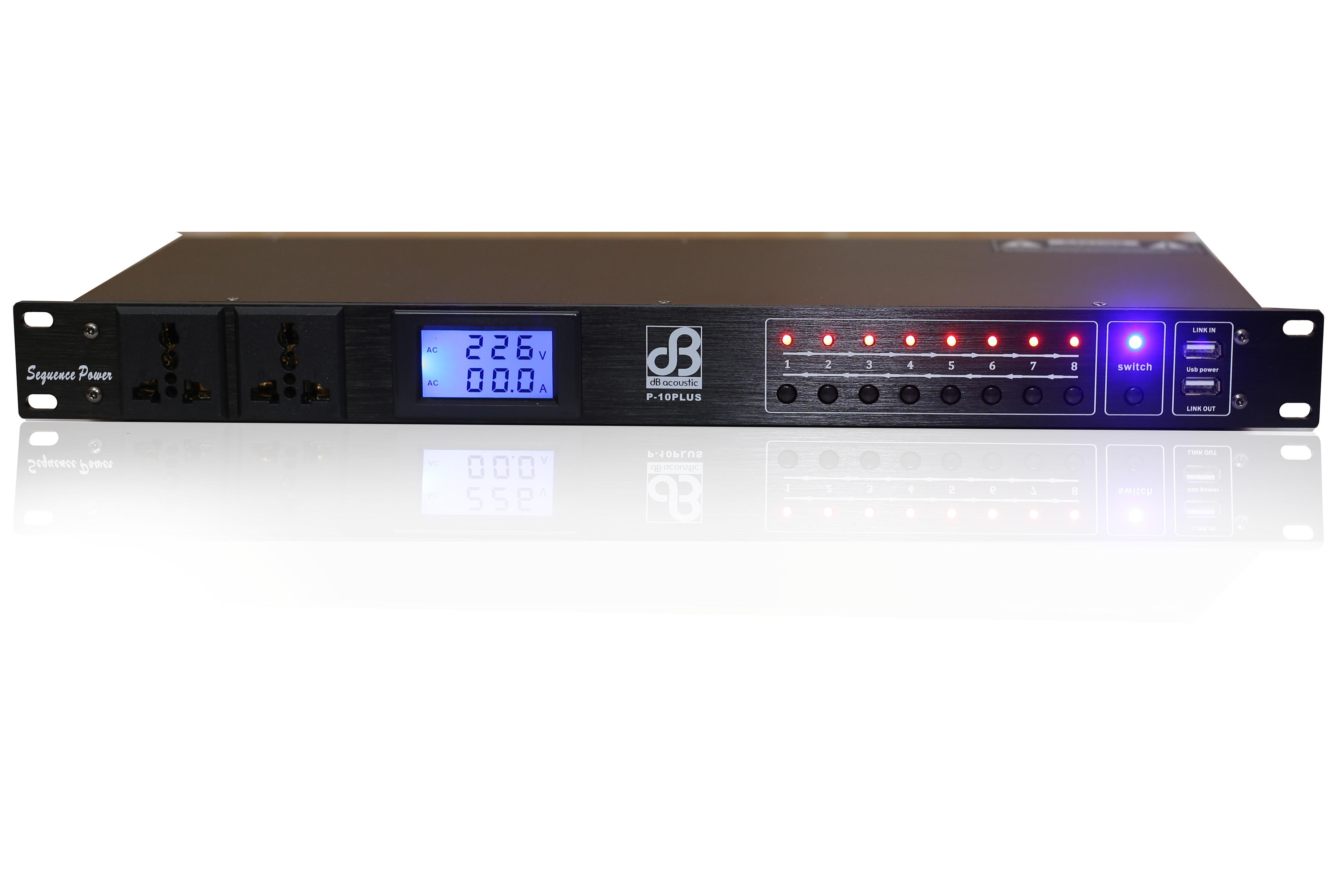 Chia nguồn dB Acoustic P10 Plus