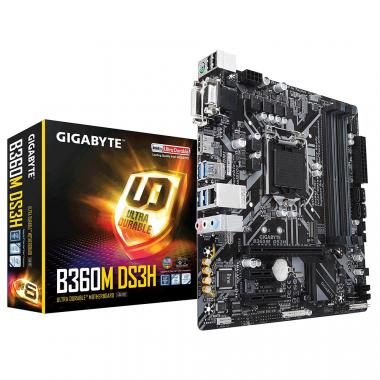 Bo mạch chính - Mainboard Gigabyte B360M-DS3H