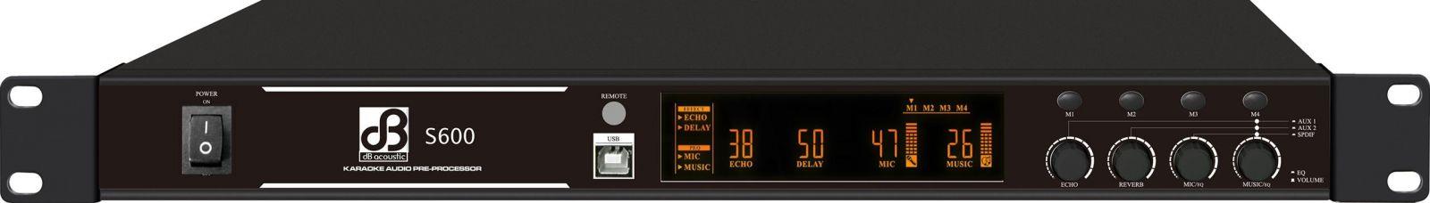 Vang số dB acoustic S600